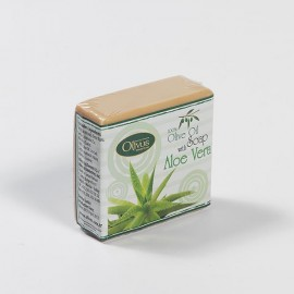 Olivos Herbs & Fruits Aloe Vera натуральное оливковое мыло 126 гр