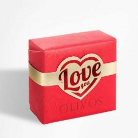 Olivos Love You натуральное оливковое мыло 150 гр