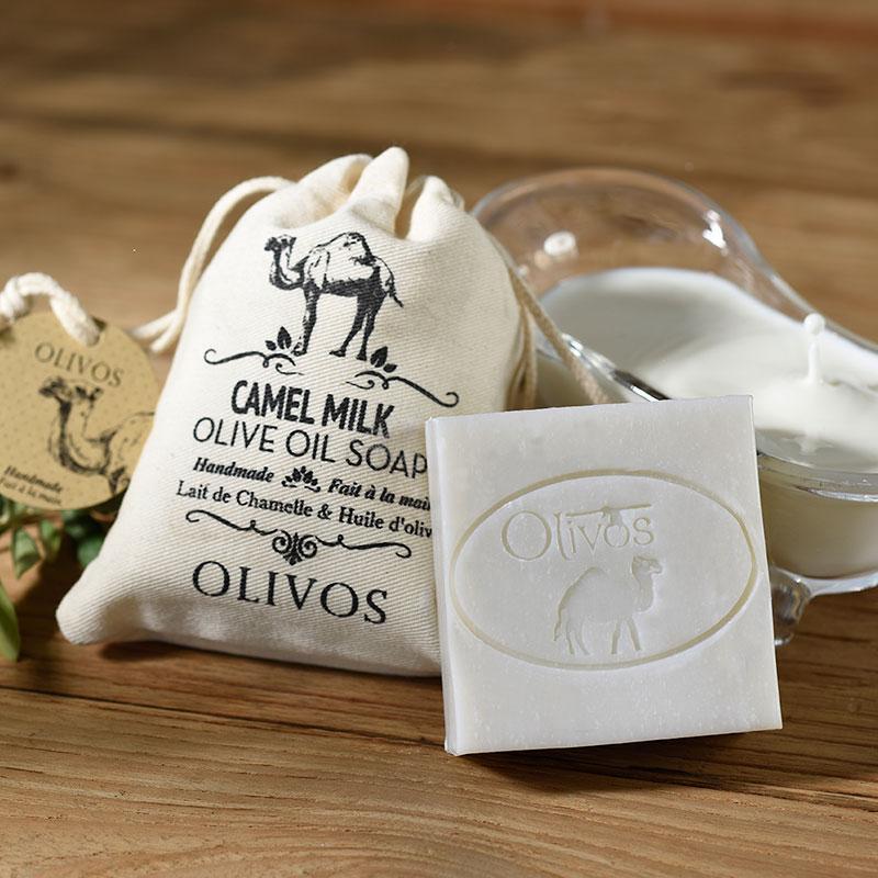 Olivos Camel milk натуральное оливковое мыло 150 гр