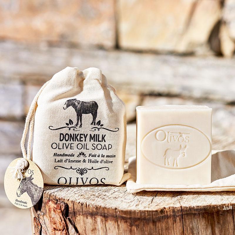 Olivos Donkey milk натуральное оливковое мыло 150 гр