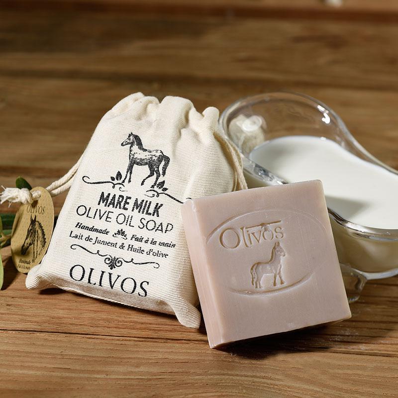 Olivos Mare milk натуральное оливковое мыло 150 гр