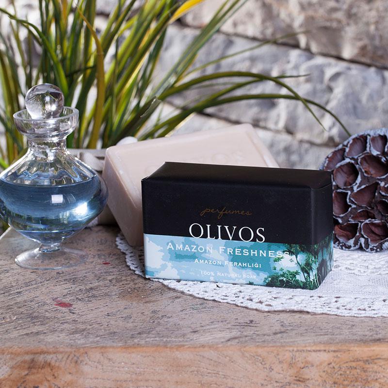 Olivos Perfumes Amazon Freshness натуральное оливковое мыло 250 гр